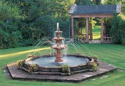 Pink Stone Fountain