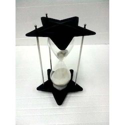 Antique Sand Timer Star