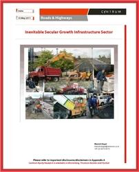 Inevitable Secular Growth Infrastructure Sector