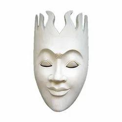 Sun Wooden Mask