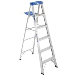 Aluminum Pipe Step Ladders