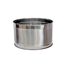 Stainless Steel Groove Planter
