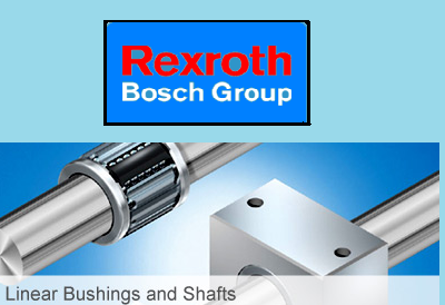 Rexroth LM Bushing & Rexroth Linear Shaft - Victor Bearings
