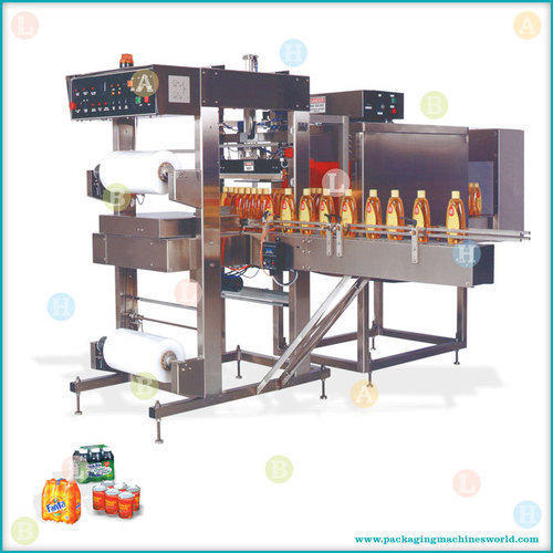 Packaging Machine Shrink Tunnel For Bottles Manufacturer
