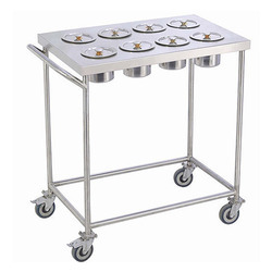SS Kitchen Masala Trolley