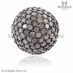 Pave Diamond Beads Finding