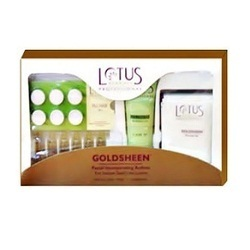 Gold Facial Kit Service (Lotus)