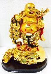Very Big Laughing Buddha Happy Man Chinese Feng Shui Kub