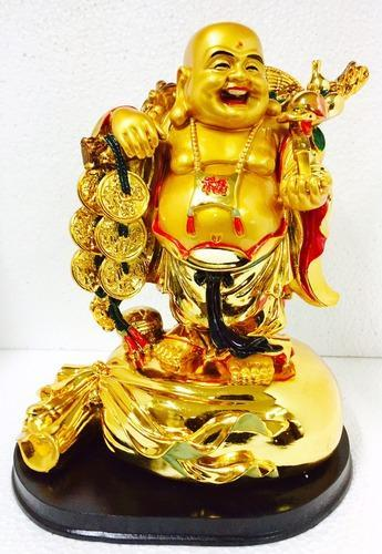 Very Big Laughing Buddha Happy Man Chinese Feng Shui Kub