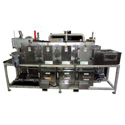 Multistage Component Cleaning Machine