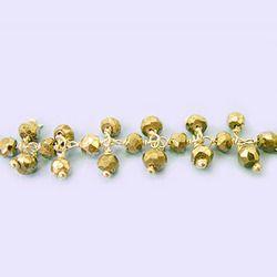 Pyrite Gemstone Dangle Chain