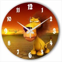 Jungle King Type Clock