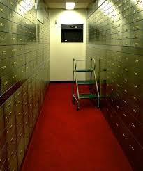 Safe Deposit Box Services