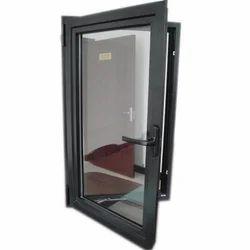 Modern White Aluminium Casement Window, For Home
