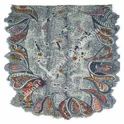 Woolen Shawls with Embroidery