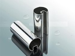 Stainless Steel Glass Pipe