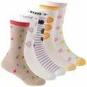 Babies Self Design Crew Length Socks