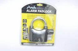 Arch Black Alarm Padlock