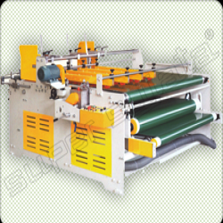 Semi Automatic Pasting, Hand Folding and Pressing Machine