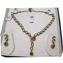 Kundan Necklace Set With Emerald And Ruby