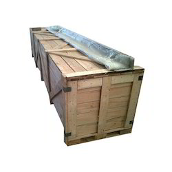 Industrial Heavy Wooden Box