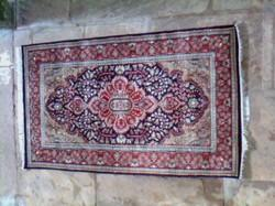 Hand Knotted Art Silk Carpet
