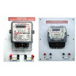 calibration of a single phase energy meter abvolt technologies rh indiamart com single phase digital energy meter circuit diagram pdf single phase electric meter connection diagram