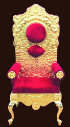 Designer Brass Wedding Chairs