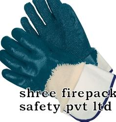 Nitrile Palm Coated Knit Lined Safety Cuff