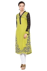 Designer Printed Stylish Long Kurti Suits Pakistani Style