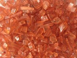 Orange Glass Pebble
