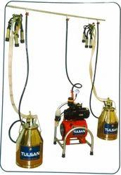Fixed Model Milking Machine Double Buckets