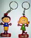 PVC Promotional Keychain