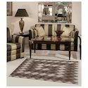 Multicolor Ivory Rug Creation Flat Weaves Durries, Size: Standard