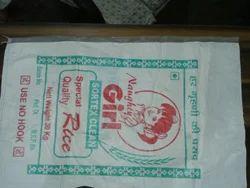 Plastic Rice Bags Flexo Printing