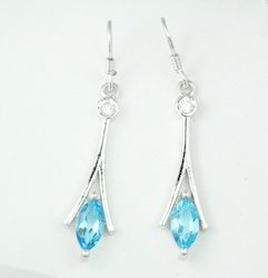 Designer Gemstone Long Earring