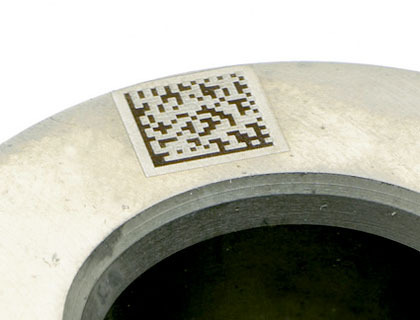 Laser Marking Barcodes And Qr Codes Datamatrix Code