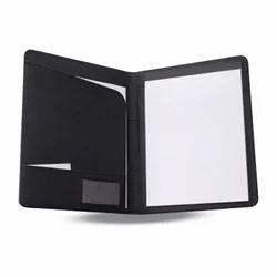 Business Folder with Pocket Zip