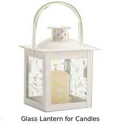 Glass Lantern for Candles