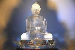 Crystal Buddha Statue