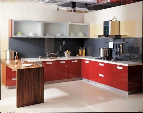 Modular Kitchen Modular Kitchen Hettich Evershine