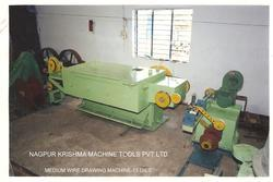Step Cone Type Wire Drawing Machine