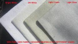 Designer Pure Linen Fabric