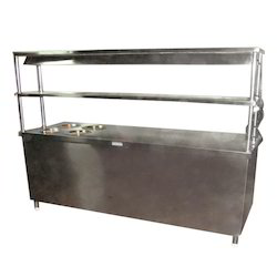Pick Up Service Counter with Bain Marie