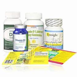 Vitamin Supplements & Prescription Medication Labels
