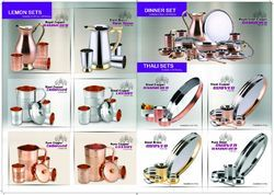 Copper And Copper Steel Table Wares
