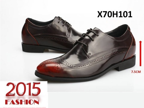 Height Increasing Leather Formal Shoes Fashion 2015