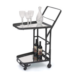 Stainless Steel Bar Trolley, for Party