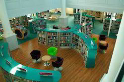 Library Design library interior designing in india