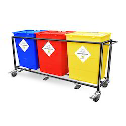 Bio Medical Waste Bins With Trolley